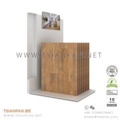 Wood Flooring Tile Exhibition Display Stand