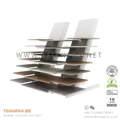 Showroom Flooring Porcelain Tile Display Rack