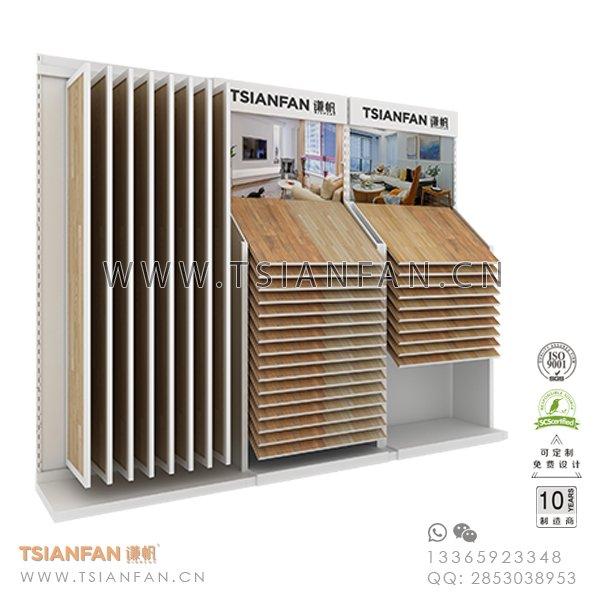 Wing Ceramic Tile Sample Showroom Corner Display