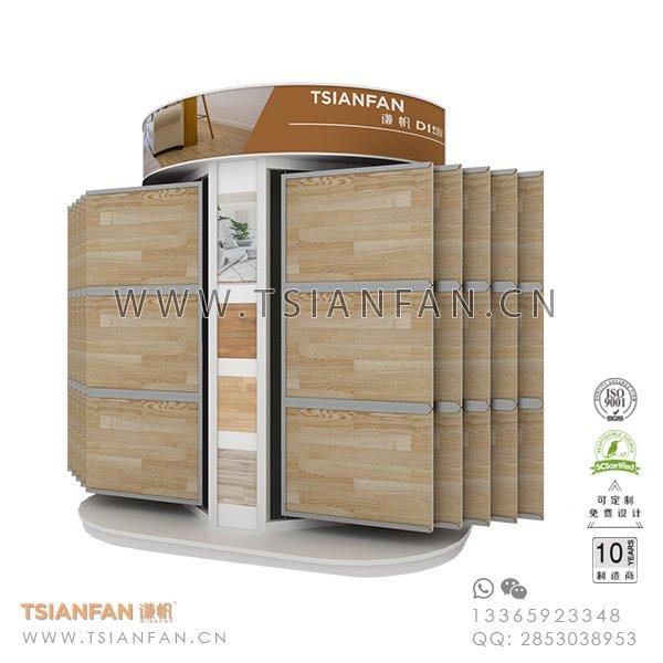 Wing Ceramic Tile Sample Showroom Display Idea