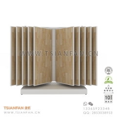 Wing Ceramic Tile Sample Showroom Display Design