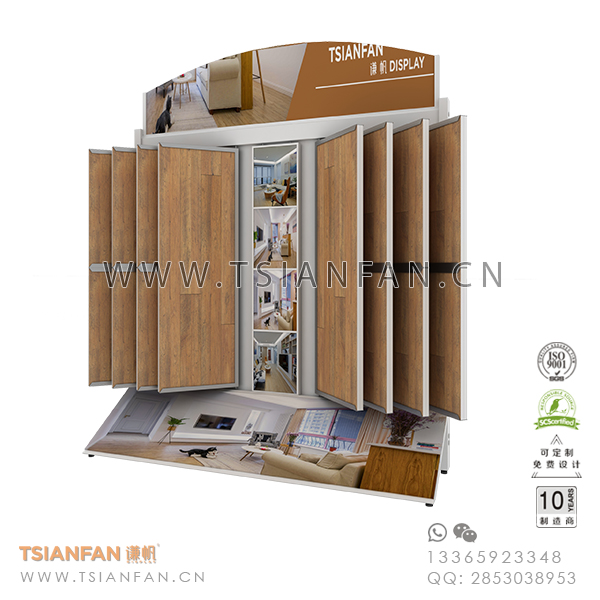 Wing Ceramic Mosaic Tile Sample Showroom Display System