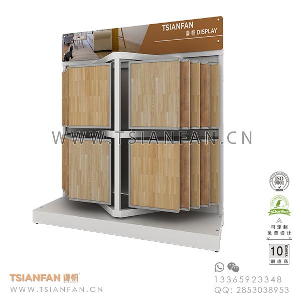 Wing Ceramic Flooring Tile Sample Display Stand