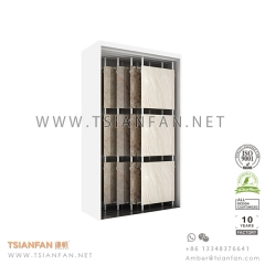 Sliding Stone Tile Showroom Display Rack