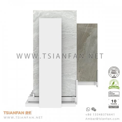 Sliding Porcelain Tile Showroom Dipslay System