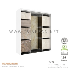 Sliding Ceramic and Stone Tile Showroom Display Rack