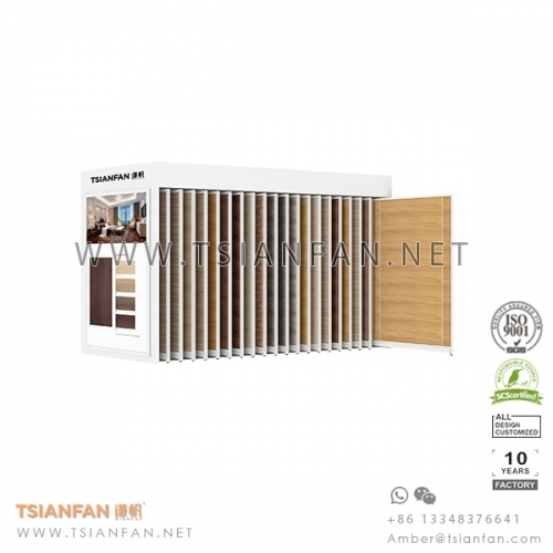 Sliding Tile Showroom Display System