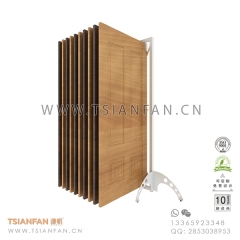 Wing Ceramic Flooring Tile Sample Showroom Display Rack