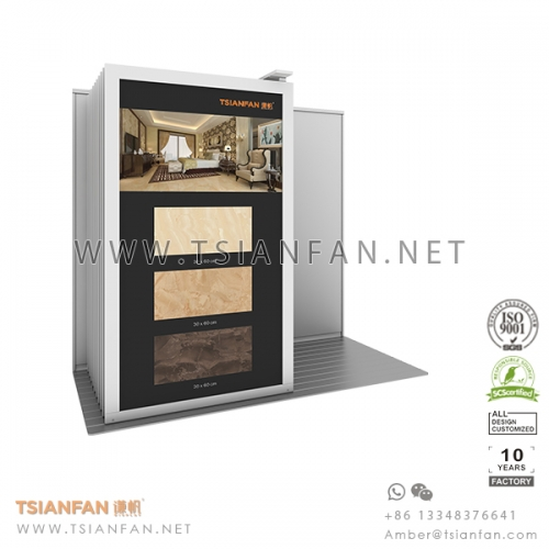 Sliding Porcelain Tile Display Stand