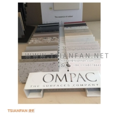Compac Metal Quartz Stone Table Stand Display for Sample Chip