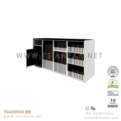 Porcelain Tile Showroom Design Idea , Tile Display Rack