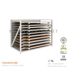 New Style Ceramic Tile Showroom Display , Display Table for Tile