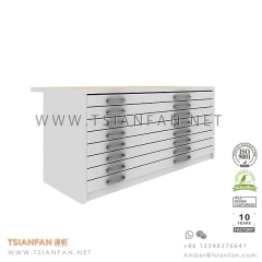Showroom Ceramic Tile Display Drawer , Tile Display Stand