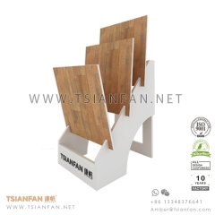 Wooden Flooring Tile Exhibition Display Rack