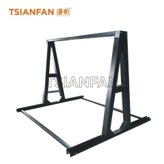 Marble slab display rack,Large slab stone display rack SD040