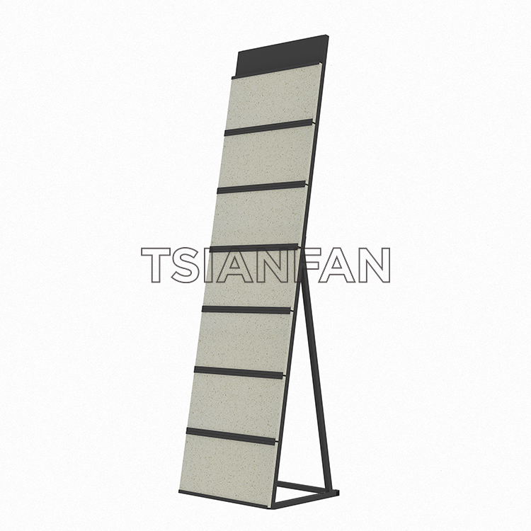 Waterfall Tile Display Stand Showroom,Waterfall Tile Display Stand Stone Display